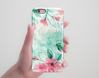 Floral iPhone Case iPhone 5 5S Case iPhone 5C Case Floral iPhone 6 6S Case iPhone 6 6S Plus Case Samsung Galaxy S5 S6 Case Cute Phone Case