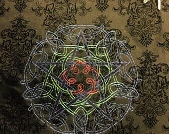 Pentagle Altar Cloth