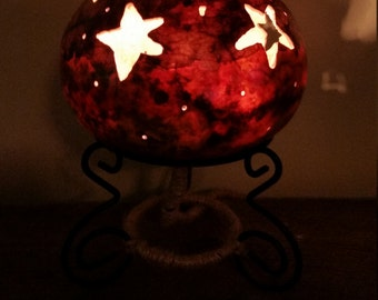 Handcrafted Gourd Lamp