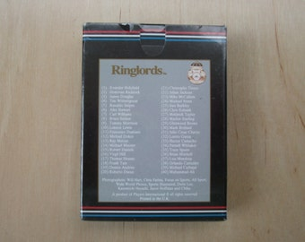 Ringlords Limited Addition Boxing Cards, 40 Boxing personalities, Boxing collector, Muhammad Ali Memorabilia, Sports boxing fan gift, Boxing