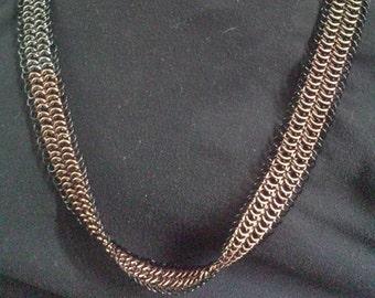 European 6-1 Flat Infinite Necklace