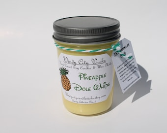 Disney Themed Soy Candle- Pineapple Dole Whips