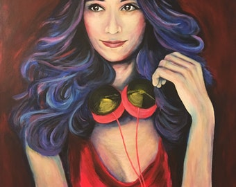 20x20 Custom Portrait Painting