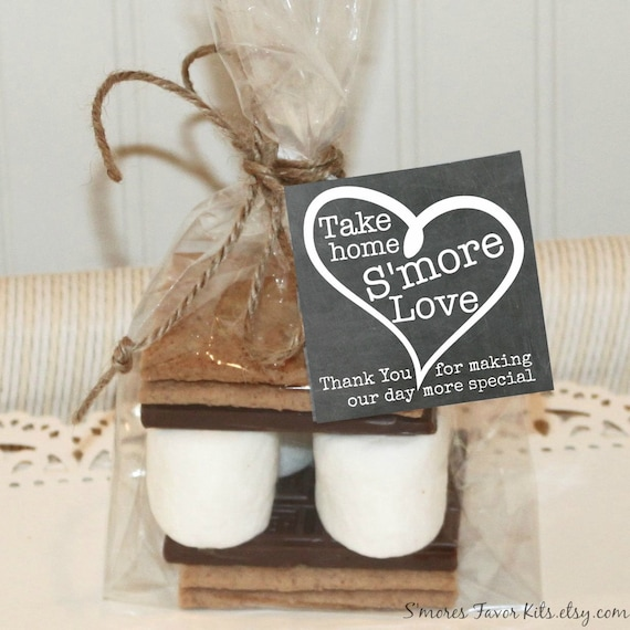 Smores Wedding Favors: S'MORE LOVE Favors S'mores Kits Wedding Favors