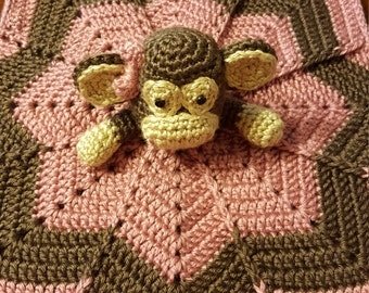 Crochet Monkey Lovey