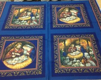 Nativity Fabric Etsy