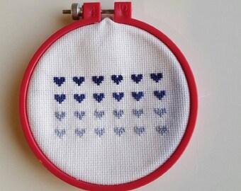 Love Heart Hoop Stitch