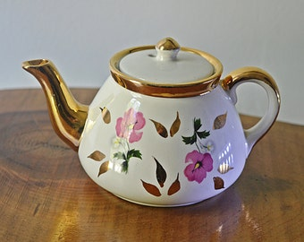 Gibsons Staffordshire England Personal Teapot, Vintage Mini Teapot, Two Cup Teapot, Teapot For One