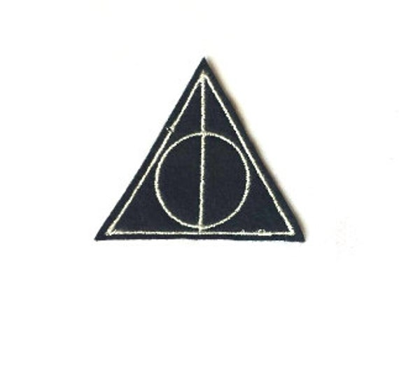 Harry Potter Deathly Hallows Patch Iron-On