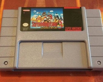 Super Mario Land 3: Tatanga's Return - SNES - Super Nintendo - NTSC