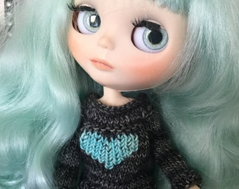 Stormy Tunic Sweater with a BIG seaside heart