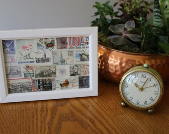 Vintage and Unique Stamp Collage
