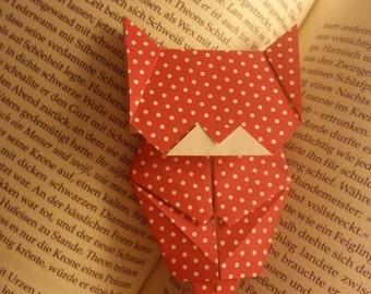 Bookmark Origami Cat