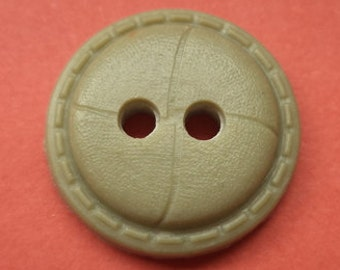 Beige 10 BUTTONS 18mm (159) button
