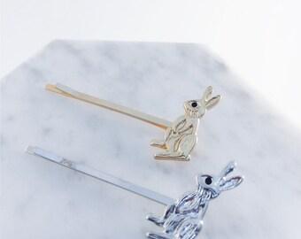 Bunny rabbit hairpin