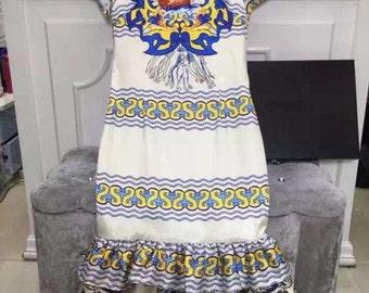 Elegant Repetition Dress
