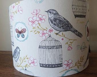 Handmade Lamp Shade Bird Cage Fabric