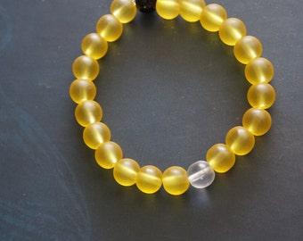 Yellow Bead Bracelet