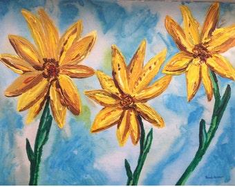 Three Sunshine Flowers