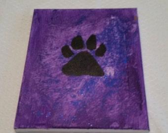 Black Paw painting