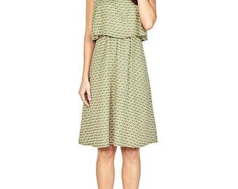 Boho Chic Dress, Casual Dress, Green Dress DRGO4VD