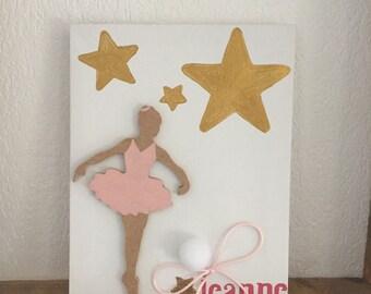 Frame canvas dancer