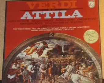 Verdi Attila Philips 2LP Classical Opera Vinyl Record Album Box Set