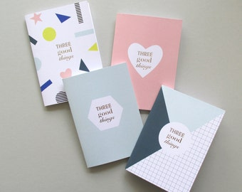 Three Good Things Notebook