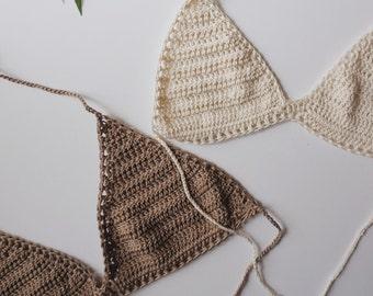 San Felipe Crochet Bikini Top