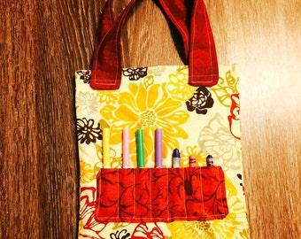Coloring Tote for Kids