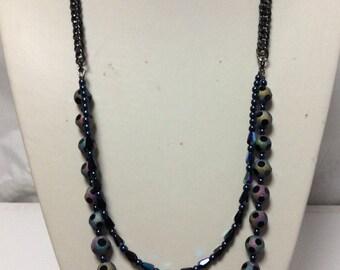 Rainbow Double Necklace