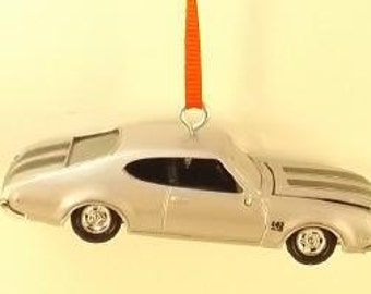 Oldsmobile 442 - 1969 Olds  - decoration - Christmas Ornament - FREE SHIPPING