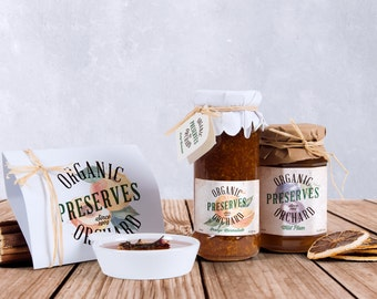 Custom Label Design Package - Custom Product Packaging Design - Branding Design for Small Business, Jars, Bottles, Food Goods