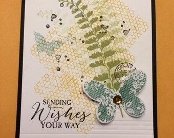 Card 001 Butterfly Basics- Stampin' Up! June 2016