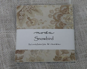 Snowbird Charm Pack by Laundry Basket Quilts for Moda