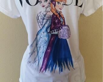 Vogue Princess T-Shirt Frozen Size Small