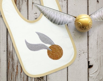 Flying Golden Ball MINI Embroidery Design File