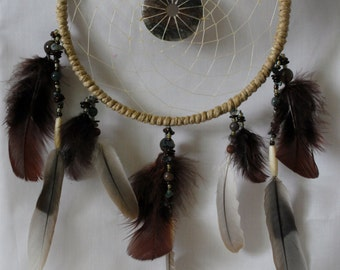 Moss Agate Dream Catcher