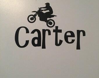 Personalized dirt bike