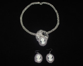 Hand made jewelry Set Ragusa