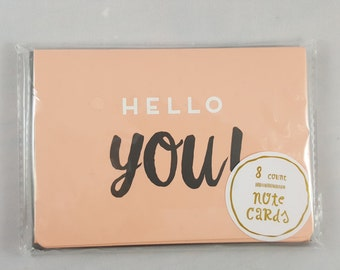 Hello You Notecards, Target Notecards, Target Dollar Spot, Blank Cards,