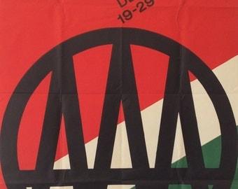 Budapest Fair poster, 1967