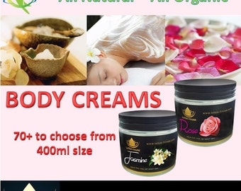 Natural Body Creams by Lotus House - 400ml