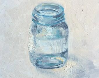 Water Jar oil painting