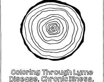 Coloring Through Lyme Disease, Chronic Illness, & Hard Times