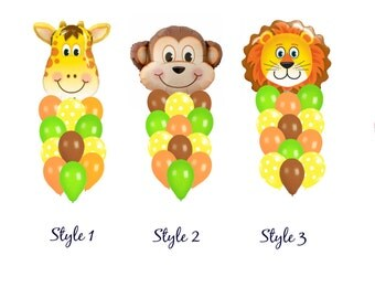 Safari Balloon Bouquet