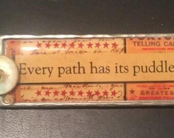 Puddle pin
