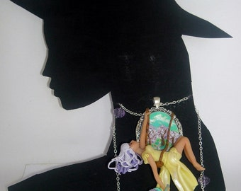 Necklace  doll collana cammeo