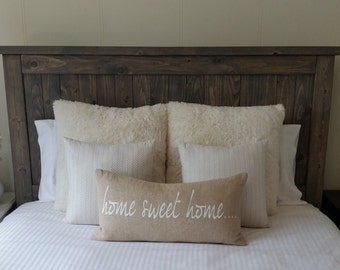 "Rustic Headboard ""The Vaira"""