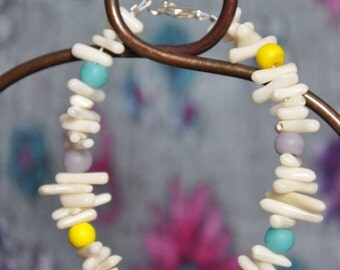 Coral & Glass - Perfect Summer Bracelet
